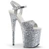 FLAMINGO - 810LG Silver Glitter